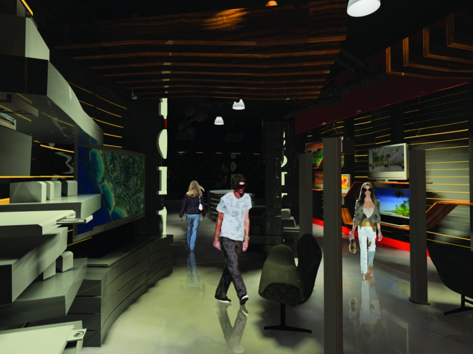 conceptual retail interior design 2